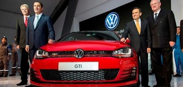 Volkswagen dio inicio a la producción de Golf séptima generación.