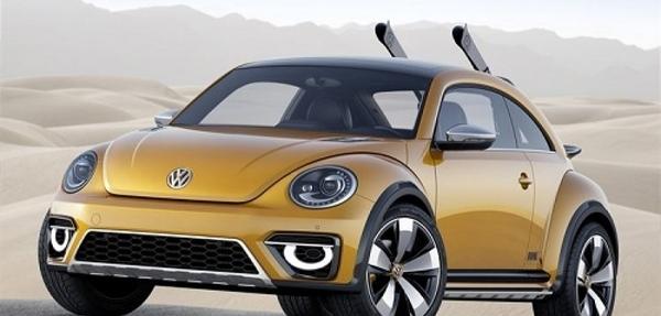 Volkswagen presenta el nuevo prototipo Beetle Dune