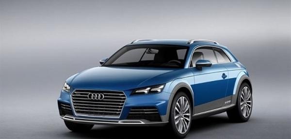 Concepto híbrido enchufable de Audi es presentado en Detroit.