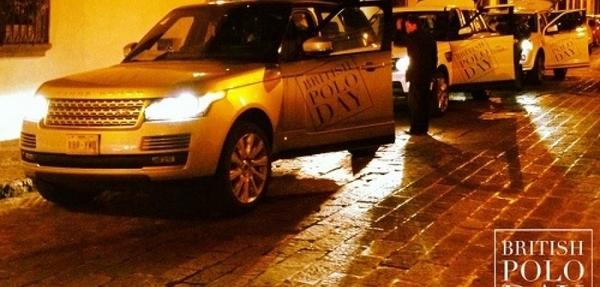 Jaguar Land Rover presentes en el  British  Polo Day México 2013