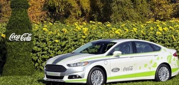 Ford produce parte del interior de un vehículo con tecnología de Coca-Cola
