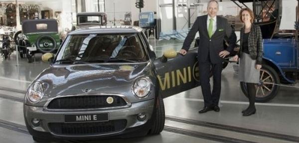 El MINI E llega al Museo Alemán