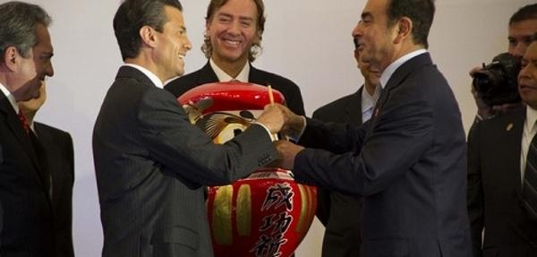Nissan inaugura nueva planta en Aguascalientes