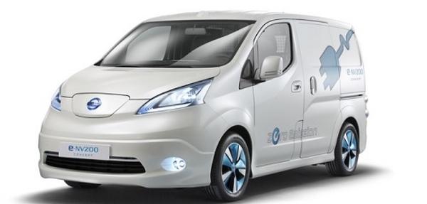 La nueva  e-NV200 cero emisiones está en su fase final de desarrollo