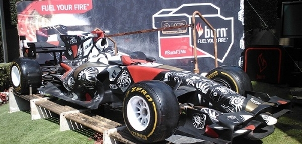 Burn une fuerzas  con líderes creativos y Lotus Team en F1