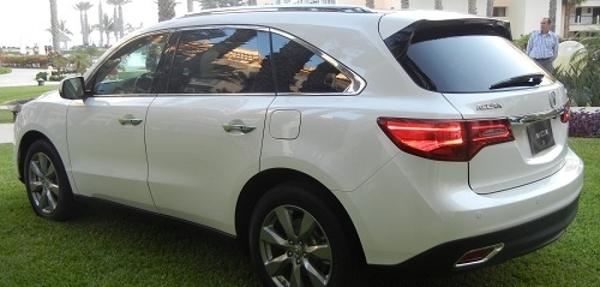 Prueba de manejo Acura MDX 2014