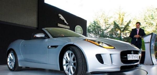 Jaguar presenta el lanzamiento de su nuevo F-TYPE