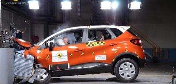 EuroNCAP otorga sus cinco estrellas al Renault Captur
