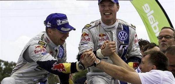 Latvala vence el Rally Acrópolis y logra su primera victoria con Volkswagen