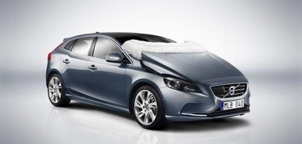 Volvo Car es premiado por su airbag de peatones