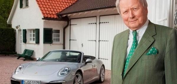 El Dr. Wolfgang Porsche celebra su 70º aniversario de nacimiento