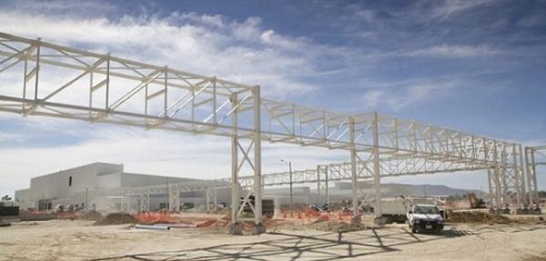 Nueva planta de Nissan en Aguascalientes está por concluirse en tiempo récord