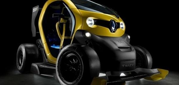 Renault presenta el prototipo RS F1 del eléctrico Twizy