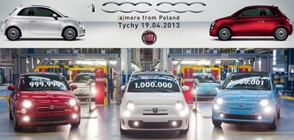 Fiat Polonia celebra la producción millonésima  del Fiat 500