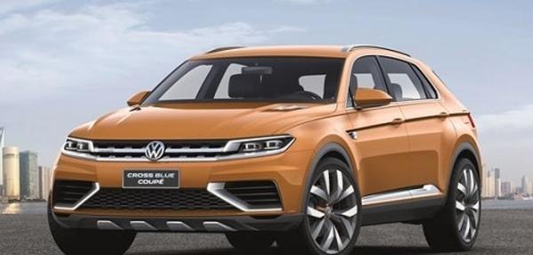 VW presenta en Shanghai el prototipo CrossBlue Coupé híbrido enchufable