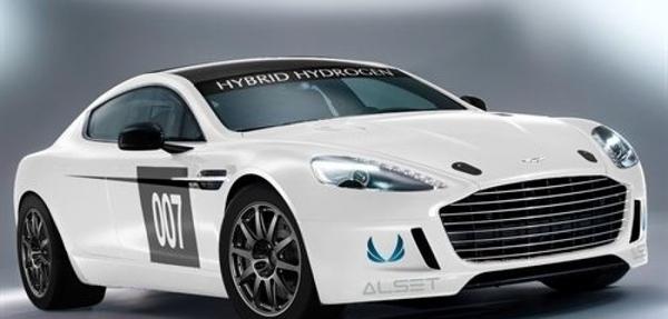 Aston Martin presenta un prototipo híbrido de hidrógeno del Rapide S