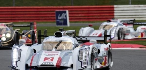 Victoria y doblete para Audi en Silverstone