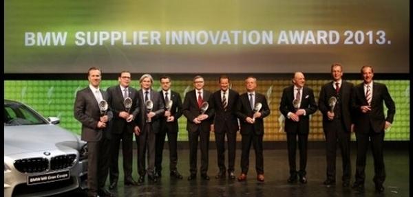 BMW Group entrega el Premio a la Innovación de Proveedores 2013