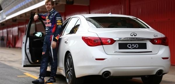 Sebastian Vettel, firma como director de Performance de Infiniti