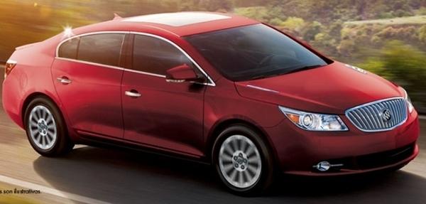 Buick revela el nuevo LaCrosse 2014