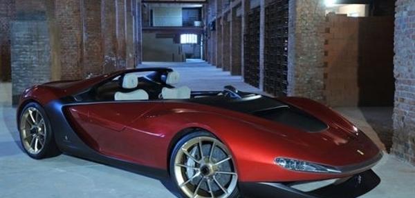 Pininfarina presenta el 'concept' Ferrari Sergio