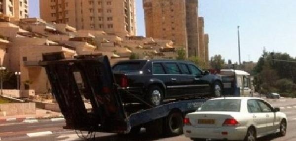 Una de las limusinas de Obama se avería en Israel al ponerle gasolina por error