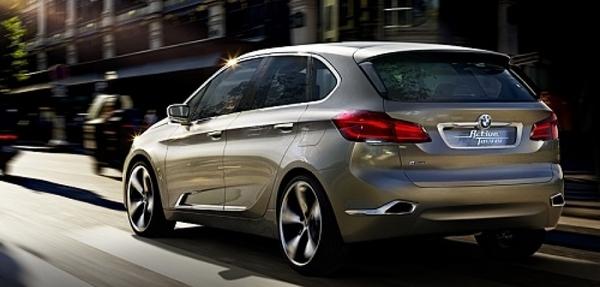 BMW mostrará en Nueva York el prototipo Active Tourer