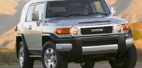 Toyota México realizará Acción Preventiva de Servicio  de su modelo FJ Cruiser