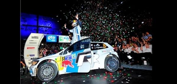 El francés Ogier toma el liderato del WRC en Guanajuato