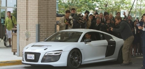 Audi listo para retomar su papel en Iron Man 3 de Marvel
