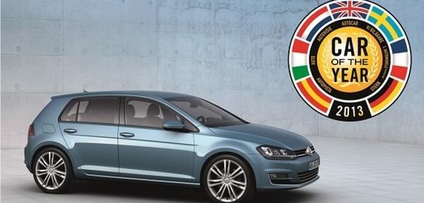 """Nuevo Golf es nombrado """"Car of the Year 2013"""" en Europa"""