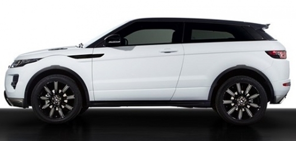 Land Rover lanza el Black Design Pack para el Range Rover Evoque