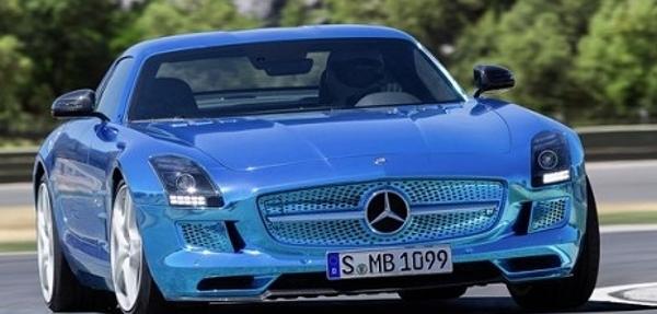 Mercedes-Benz presenta SLS AMG Coupé Electric