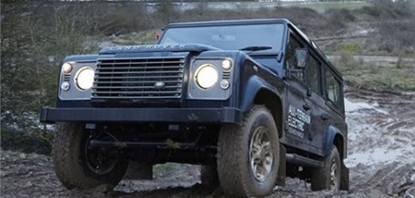 Land Rover presentará prototipos eléctricos en el Autoshow de Ginebra
