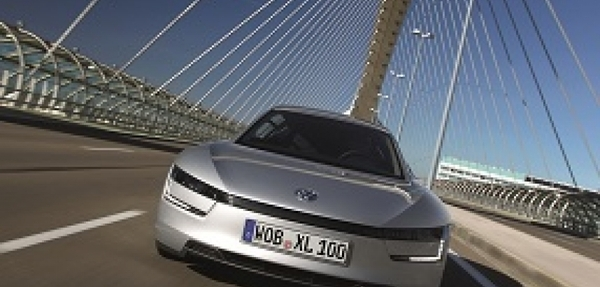 Volkswagen lanza el auto ahorrador de combustible de 1 litro