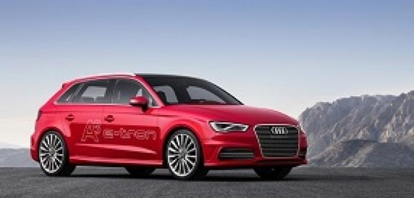 El Audi A3 e-tron