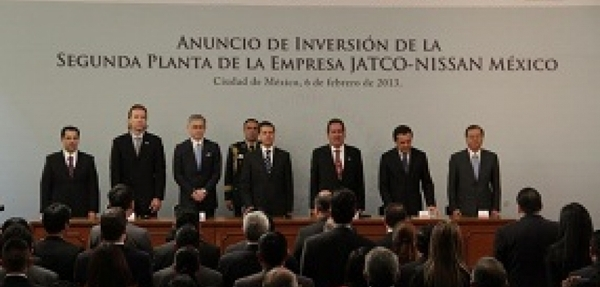 JATCO invierte $220 millones de dólares en su Segunda Planta de Manufactura en México