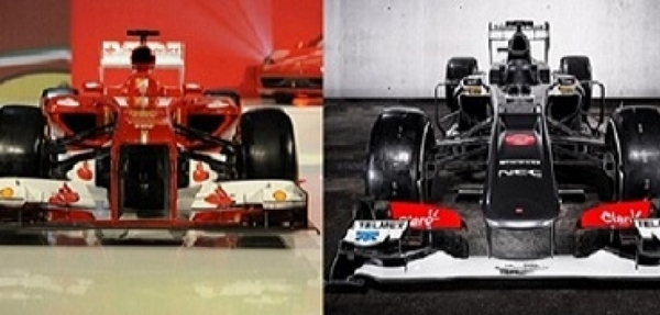 Vehículos monoplaza McLaren, Infiniti-Red Bull, Sauber, Ferrari