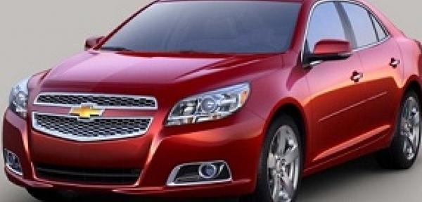 General Motors llama a revisión unidades Chevrolet Malibu 2013