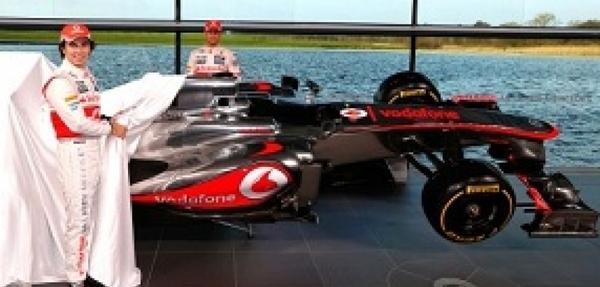 Vodafone McLaren Mercedes lanzó su 2013 de Fórmula 1
