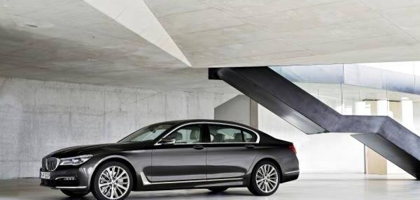 5 tecnologías futuristas del BMW Serie 7