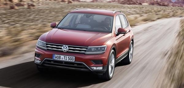 Volkswagen Tiguan en Frankfurt