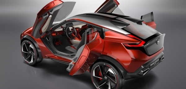 Nissan Gripz, un todoterreno futurista