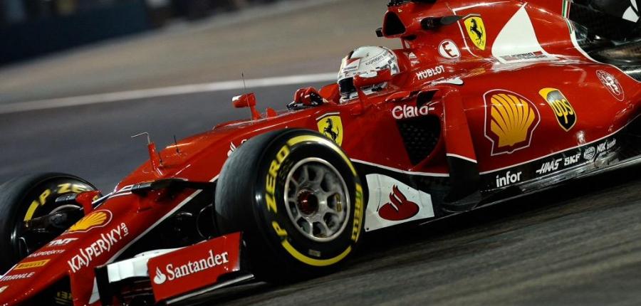 Vettel, imbatible en Singapur