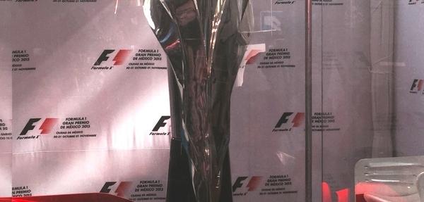 Águila Real, trofeo del GP de México