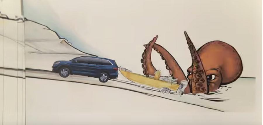 Video: Divertida animación de Honda