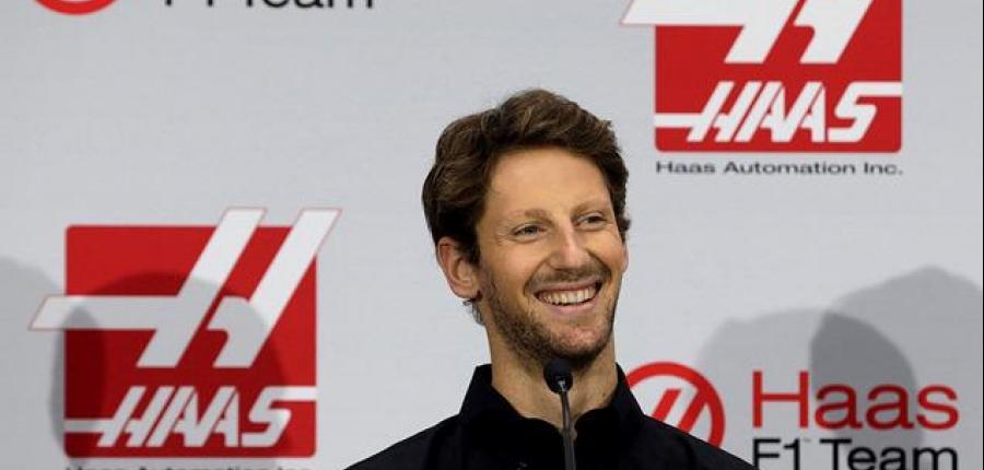 Grosjean deja Lotus, firma para Haas F1