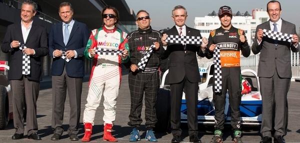 Fittipaldi y Checo Pérez reinauguran el Hnos. Rodríguez