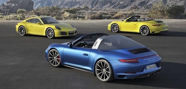 Nuevos Porsche 911 Carrera 4 y 911 Targa 4