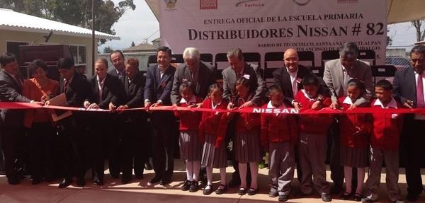 Nissan inaugura otra escuela en México
